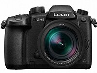 Mirrorless Panasonic Lumix DC-GH5LEG-K & Φακός Leica 12-60mm - Μαύρο