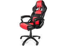 Gaming Chair Arozzi Monza Κόκκινο/Μαύρο