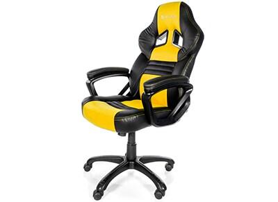 Gaming Chair Arozzi Monza Κίτρινο/Μαύρο