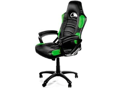 Gaming Chair Arozzi Enzo Μαύρο/Πράσινο