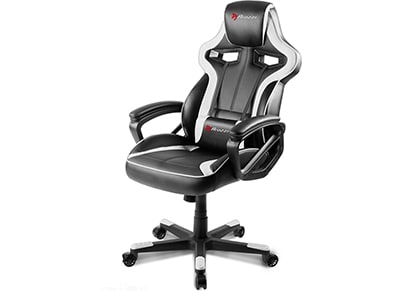 Gaming Chair Arozzi Milano Λευκό/Μαύρο