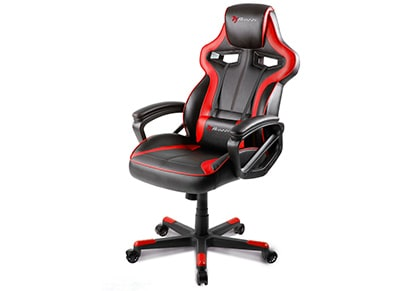 Gaming Chair Arozzi Milano Κόκκινο/Μαύρο
