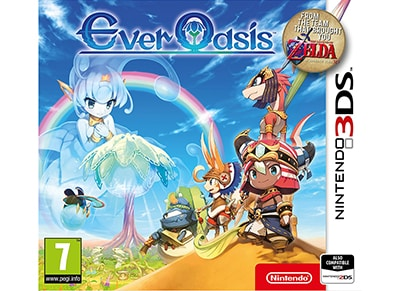 Ever Oasis - 3DS/2DS Game