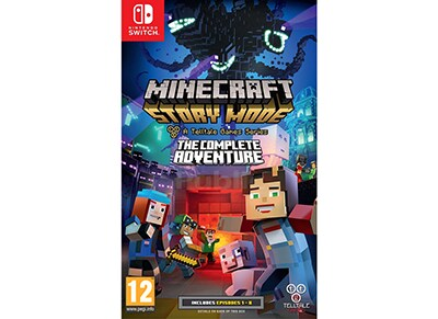 Minecraft Story Mode: The Complete Adventure - Nintendo Switch Game