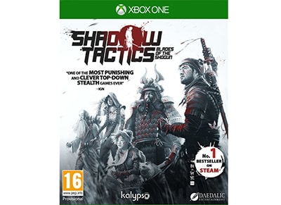Shadow Tactics: Blades of the Shogun - Xbox One Game gaming   παιχνίδια ανά κονσόλα   xbox one