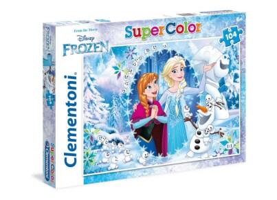 Παζλ Frozen Together Forever - Super Color Disney Clementoni - 104 Κομμάτια