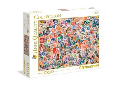 Puzzle Clementoni High Quality Collection: Γραμματόσημα 39387 - 1000 Κομμάτια