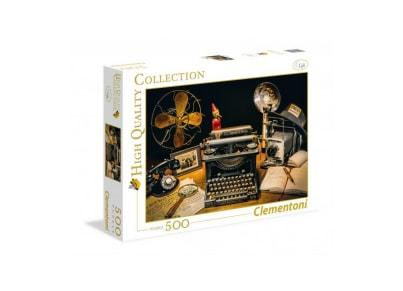 Puzzle Clementoni High Quality Collection: Γραφομηχανή 35040 - 500 Κομμάτια