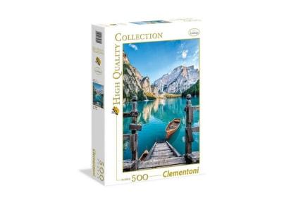 Puzzle Clementoni High Quality Collection: Λίμνη Braies 35039  - 500 Κομμάτια