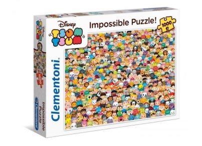 Παζλ Tsum Tsum Disney Impossible (1000 Κομμάτια)