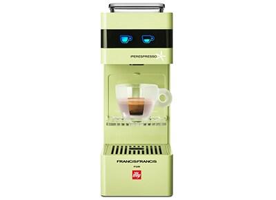 Καφετιέρα Espresso ILLY Francis Y3 - 1000W - Πράσινο είδη σπιτιού   smartliving   coffee corner   καφετιέρες