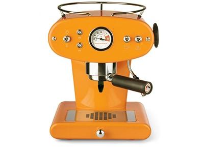 Καφετιέρα Espresso ILLY Francis X1 Ground Coffee - 1100W - Πορτοκαλί είδη σπιτιού   smartliving   coffee corner   καφετιέρες