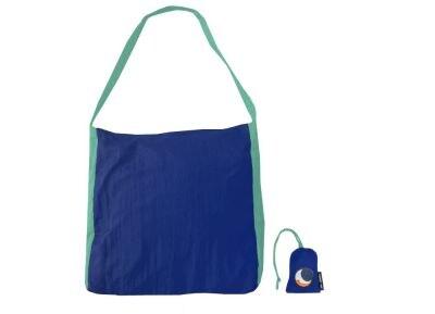 Τσάντα Shopper Ticket To The Moon Αδιάβρογχη Royal Blue/Turquoise