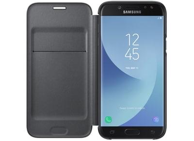 Θήκη Samsung Galaxy J5 2017 - Samsung Flip Wallet Μαύρο τηλεφωνία   tablets   αξεσουάρ κινητών   θήκες