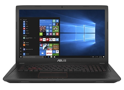 "Laptop Asus FX553VD-FY647T - 15.6"" (i7-7700HQ/8GB/256GB/GTX 1050)"