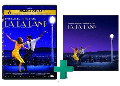 SET LA LA LAND DVD & OST
