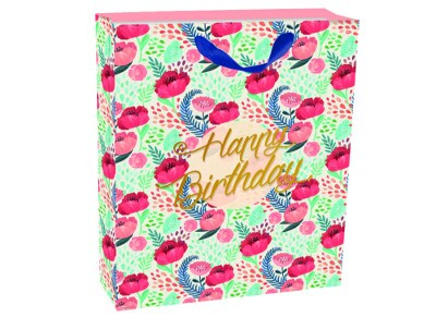 Τσάντα Δώρου Large Legami Gift Bag Flowers