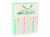 Τσάντα Δώρου Large Legami Gift Bag Happy Birthday Candles