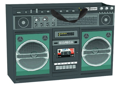 Τσάντα Δώρου Legami Gift Bag X-Large Boom Box
