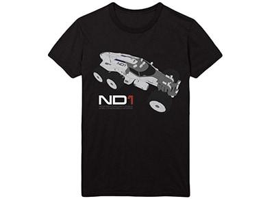 T-Shirt Gaya Mass Effect Andromeda ND1 Μαύρο - XL