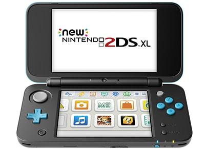 New Nintendo 2DS XL - Μαύρο/Μπλε
