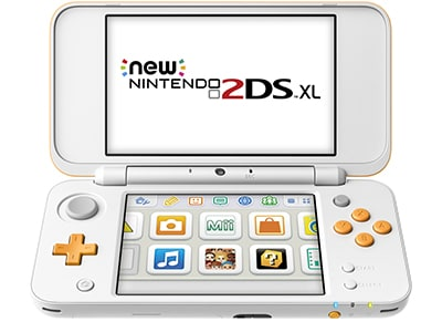 New Nintendo 2DS XL - Λευκό/Πορτοκαλί gaming   κονσόλες   nintendo 2ds   3ds