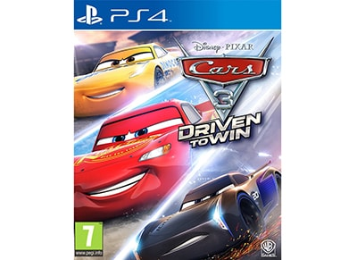 Cars 3: Driven to Win - PS4 Game