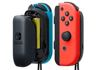 Nintendo Joy-Con Battery Pack - Λαβές Μπαταριών Nintendo Switch Μαύρο gaming   αξεσουάρ κονσολών   nintendo switch