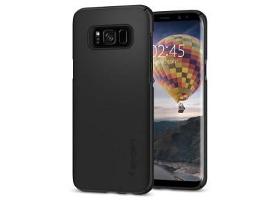 Θήκη Samsung Galaxy S8 Plus - Spigen Thin Fit Case Μαύρο τηλεφωνία   tablets   αξεσουάρ κινητών   θήκες