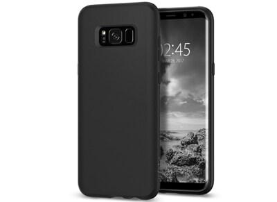Θήκη Samsung Galaxy S8+ Spigen Liquid Crystal Soft Case - Μαύρο τηλεφωνία   tablets   αξεσουάρ κινητών   θήκες