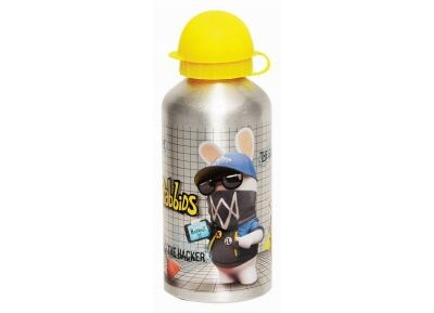 Παγούρι GIM - Rabbids - Αλουμίνιο - 500 ml