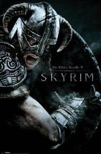 Skyrim Attack Poster
