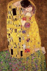 Gustav Klimt [The Kiss] Poster