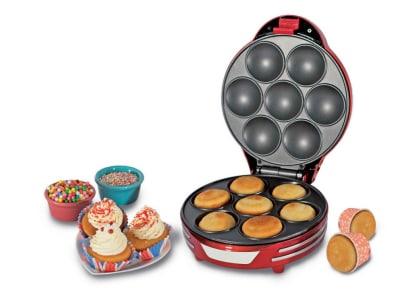 Παρασκευαστής Muffin Cupcake Ariete Party Time 188 - 700W - Κόκκινο