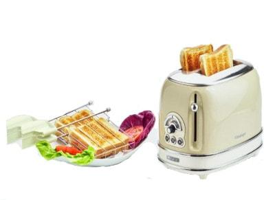 Τοστιέρα - Vintage Toaster 0155/03 Ariete Μπεζ