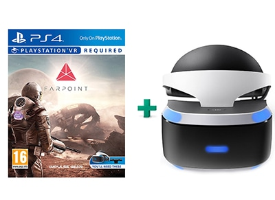 Farpoint & PlayStation VR Headset - PS4/PSVR Game