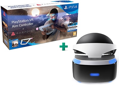 Farpoint & PSVR Aim Controller & PlayStation VR Headset - PS4/PSVR Game