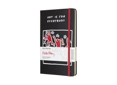 Σημειωματάριο - Moleskine - Keith Haring Ριγέ Large