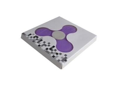 Fidget Spinner Silicon Purple