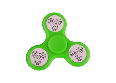 Fidget Spinner Led Green