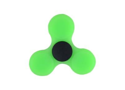 Fidget Spinner Silicon Green