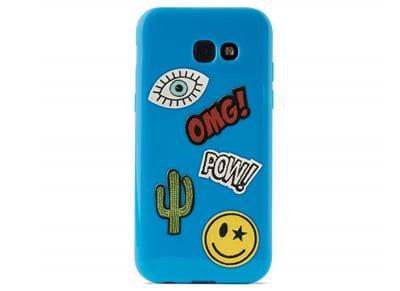 Θήκη Samsung Galaxy A3 2017 - Puro Patch Mania Case Μπλε τηλεφωνία   tablets   αξεσουάρ κινητών   θήκες