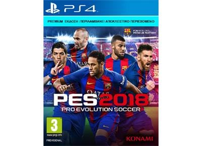 Pro Evolution Soccer 2018 Day 1 Premium Edition  - PS4 Game