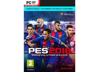 Pro Evolution Soccer 2018 Day 1 Premium Edition  - PC Game