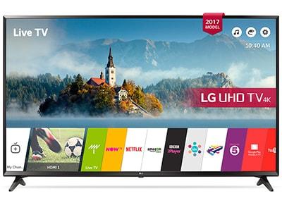 """4K Τηλεόραση 49"""" LG 49UJ630V Smart LED Ultra HD"""