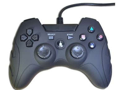 Spartan Gear Wired Controller - Χειριστήριο PS3/PC Μαύρο