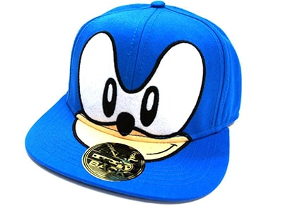 Καπέλο Bioworld Sonic the Hedgehog - Sonic the Hedgehog Face Snapback - Μπλε