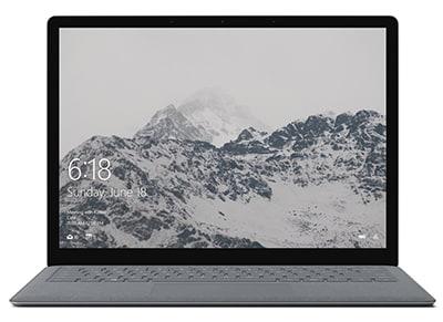 "Laptop Microsoft Surface Platinum - 13.5"" (i5-7200U/128GB/4GB/HD)"