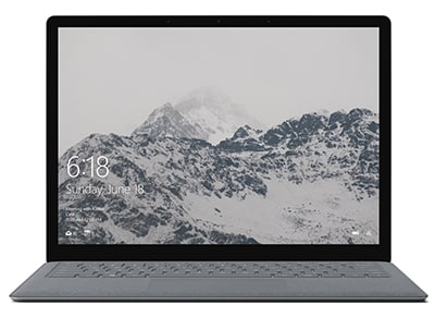 "Laptop Microsoft Surface Platinum - 13.5"" (i5-7200U/256GB/8GB/HD)"