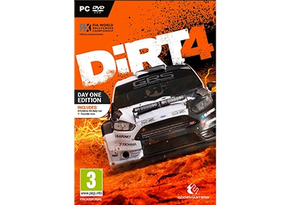 Dirt 4 Day One Edition - PC Game